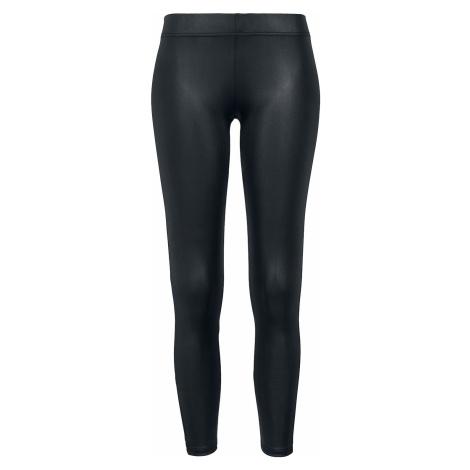 Urban Classics Ladies Leather Imitation Leggings Leggings black