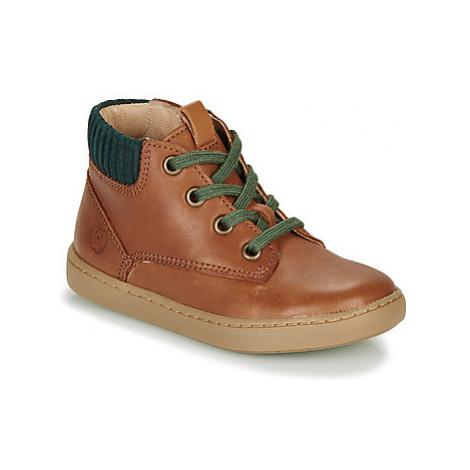 Shoo Pom PLAY DESERT ZIP boys's Children's Mid Boots in Brown