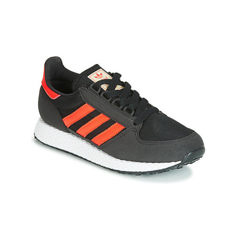Adidas FOREST GROVE J boys's Children's Shoes (Trainers) in Grey