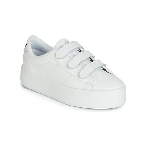 No Name PLATO STRAPS women's Shoes (Trainers) in White