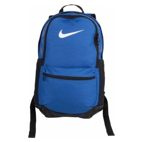 Nike BRASILIA M blue - Sports backpack