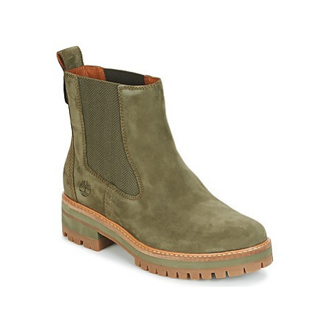 Timberland COURMAYER VALLEY CHELSEA women's Mid Boots in Kaki