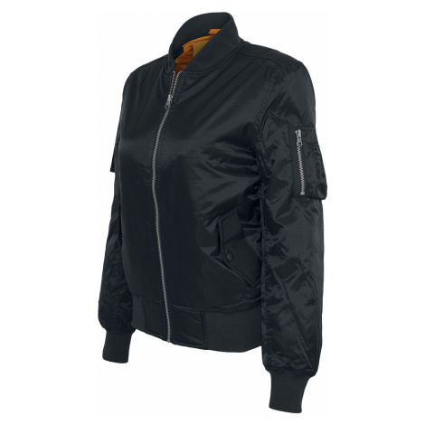 Urban Classics - Ladies Basic Bomber Jacket - Girls jacket - black