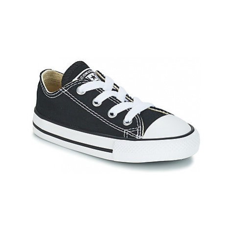 Converse ALL STAR OX girls's Children's Shoes (Trainers) in Black