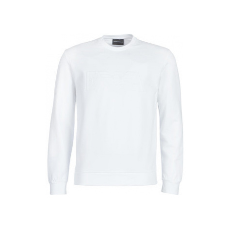 Emporio Armani YAROULE men's Sweatshirt in White
