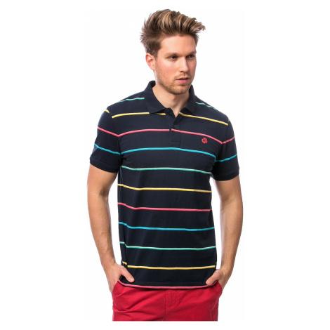T-Shirt Heavy Tools Donio Polo - Navy - men´s