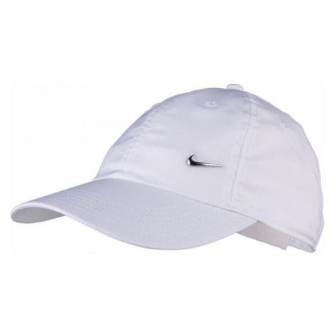 Nike HERITAGE86 CAP METAL SWOOSH white - Kids' baseball cap