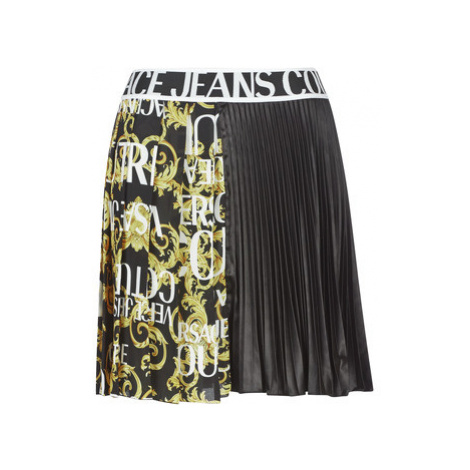 Versace Jeans Couture LADY SKIRT/BLACK UDP812 women's Skirt in Black