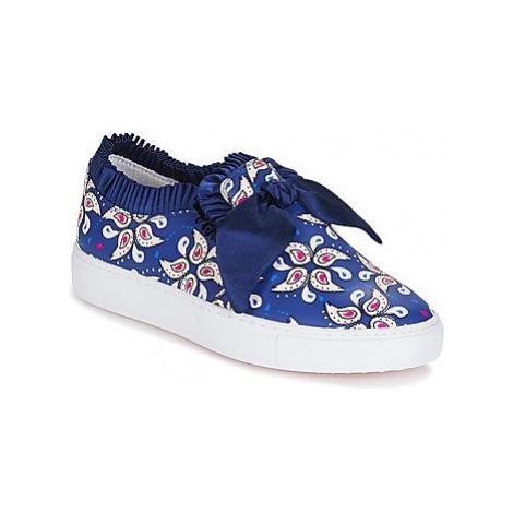 Mellow Yellow DADANA women's Slip-ons (Shoes) in Blue