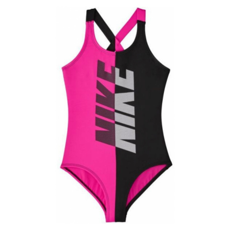 Nike RIFT black - Girls' swimsuit