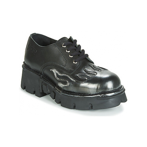 New Rock M-1553-C3 men's Casual Shoes in Black