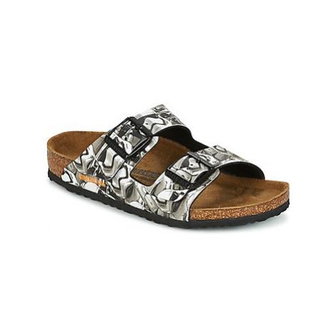 Birkenstock ARIZONA girls's Children's Mules / Casual Shoes in Grey