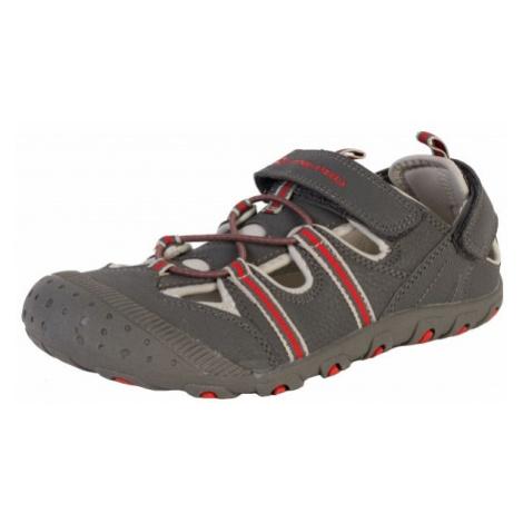 ALPINE PRO BELLEVO gray - Children's summer shoes