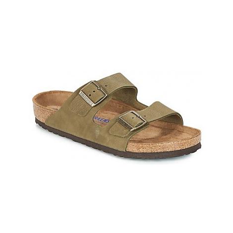 Green men's slippers