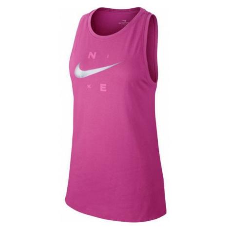Nike DRY TANK DFC BRAND pink - Women's sports top