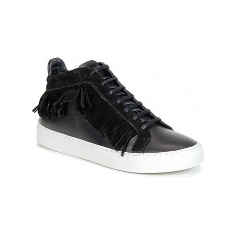 Paul Joe PAULA women's Shoes (High-top Trainers) in Black Paul & Joe