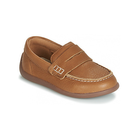 Clarks ArtistStride T girls's Children's Loafers / Casual Shoes in Brown