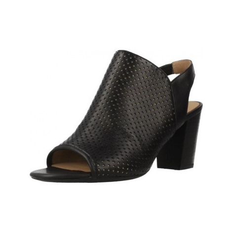 Geox D EUDORA women's Sandals in Black