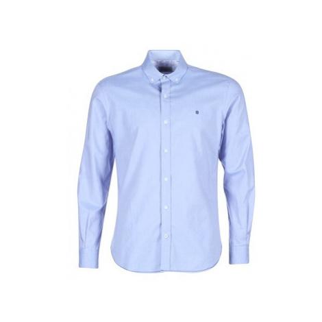 Serge Blanco CHL8390 men's Long sleeved Shirt in Blue