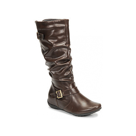 Spot on SABRINI women's High Boots in Brown