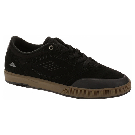 shoes Emerica Dissent - Black/Gum - men´s Emerica.