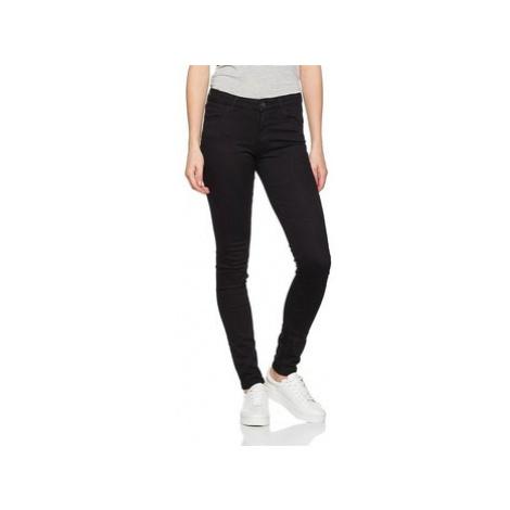 Wrangler Skinny Rinsewash 28KLX023 women's in Black