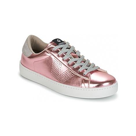 Victoria DEPORTIVO METALIZADO women's Shoes (Trainers) in Pink