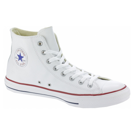 shoes Converse Chuck Taylor All Star Leather Hi - 132169/White