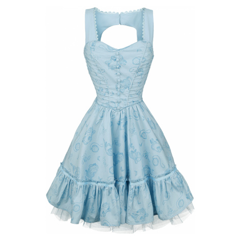 Alice in Wonderland - Through the Looking Glass - Alice Classic - Dress - blue