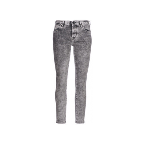 Diesel BABHILA women's Skinny Jeans in Grey