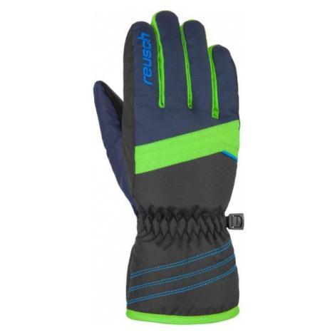 Reusch ALAN JR green - Kids' ski gloves
