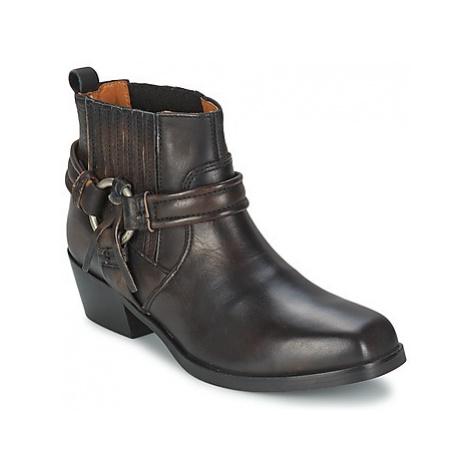 Diesel HARLESS women's Mid Boots in Black