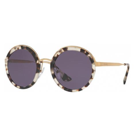 Prada Woman PR 50TS - Frame color: White, Lens color: Violet, Size 54-23/140