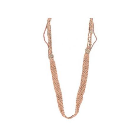 Ambre Babzoe ADAM women's Necklace in Orange