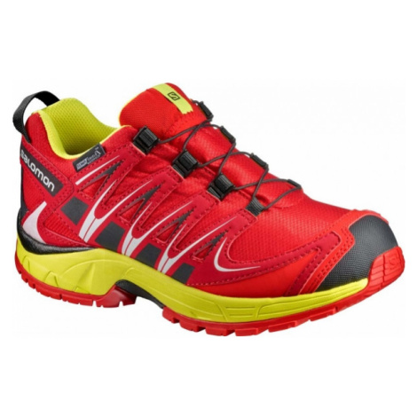 Salomon XA PRO 3D CSWP K red - Kids' running shoes