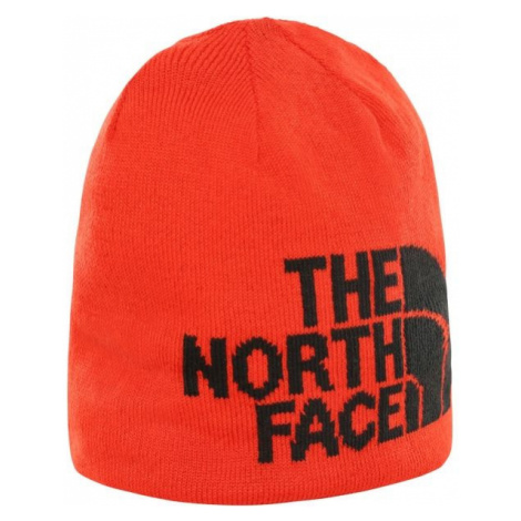 The North Face HIGHLINE BEANIE orange - Reversible beanie