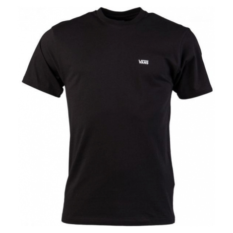 Vans MN LEFT CHEST LOGO TEE black - Men's T-shirt
