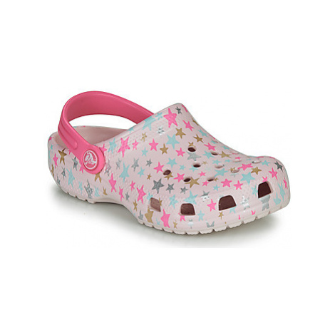 Crocs CLASSIC PRINTED CLOG K girls's Children's Clogs (Shoes) in multicolour