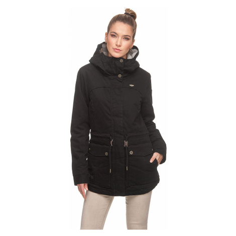 jacket Ragwear Jewel Cotton - 1010/Black - women´s