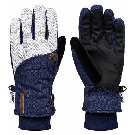 glove Roxy Nymeria - BNG0/Mid Denim - women´s