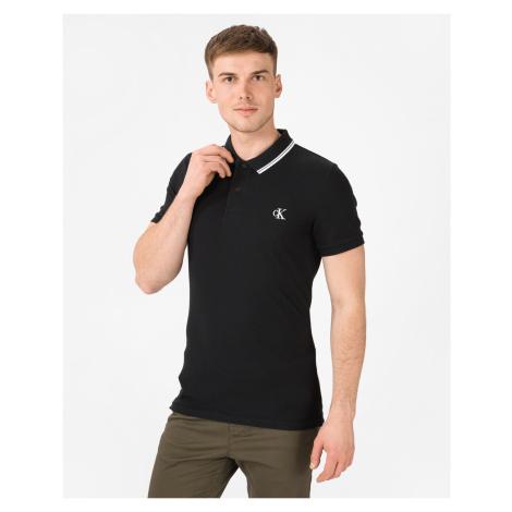 Calvin Klein Essentials Polo shirt Black
