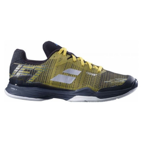 Babolat JET MACH II M CLAY yellow - Men's tennis shoes