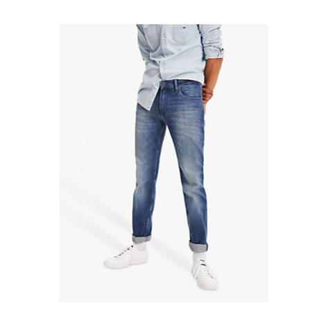 Tommy Jeans Original Ryan Straight Berry Jeans, Berry Mid Blue Tommy Hilfiger