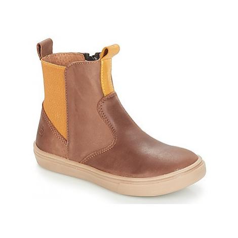 Citrouille et Compagnie JRYNE boys's Children's Mid Boots in Brown