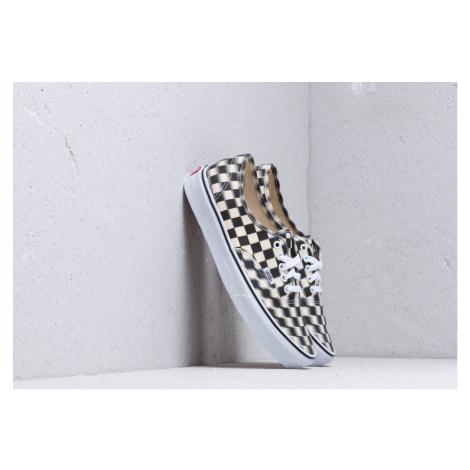 Vans Authentic (Blur Check) Black/ Classic