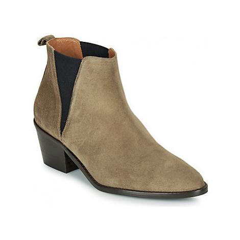 Castaner GABRIELA women's Mid Boots in Grey Castañer