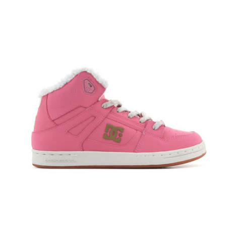 DC Shoes DC Rebound WNT ADBS100076 RSD women's Shoes (High-top Trainers) in Pink