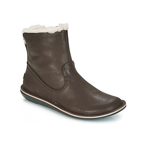 Camper BEETLE women's Mid Boots in Brown