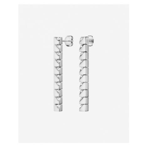 Calvin Klein Tune Earrings Silver