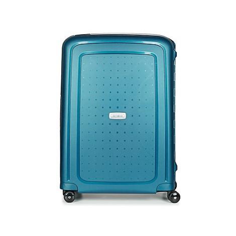 Samsonite S'CURE DLX SPINNER 69 men's Hard Suitcase in Blue